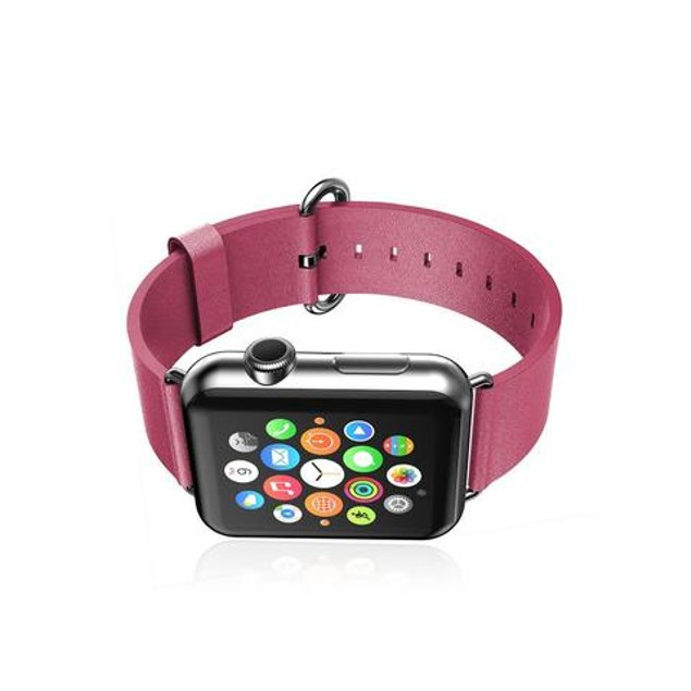 iPM PU Leather Replacement Band For Apple Watch