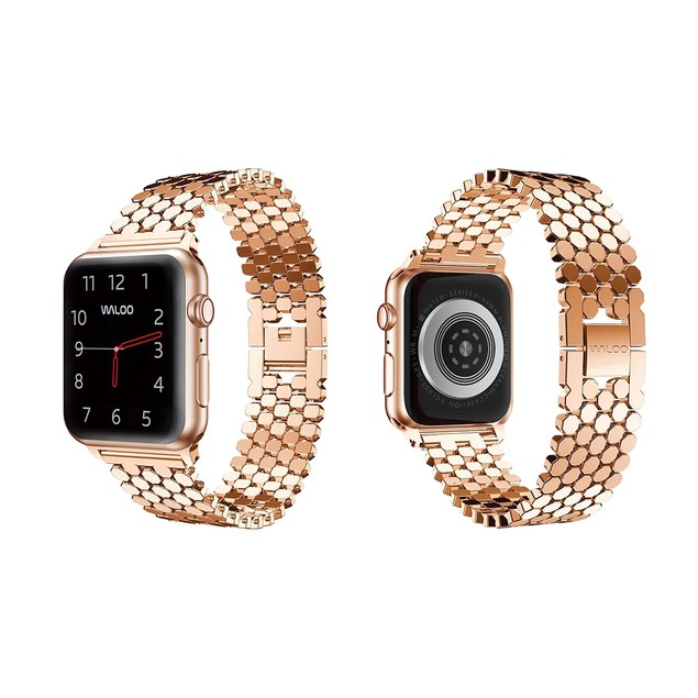 Waloo Honeycomb Style Band for Apple Watch Series 1, 2, 3, 4, and 5
