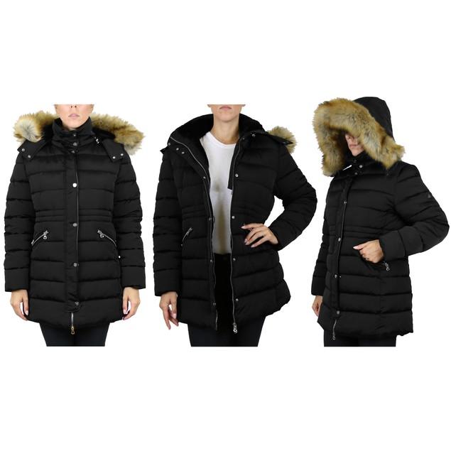 Women's Heavyweight Hooded Jacket (S-3XL)