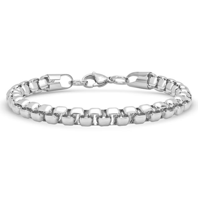 Men's Stainless Steel Bracelet Set