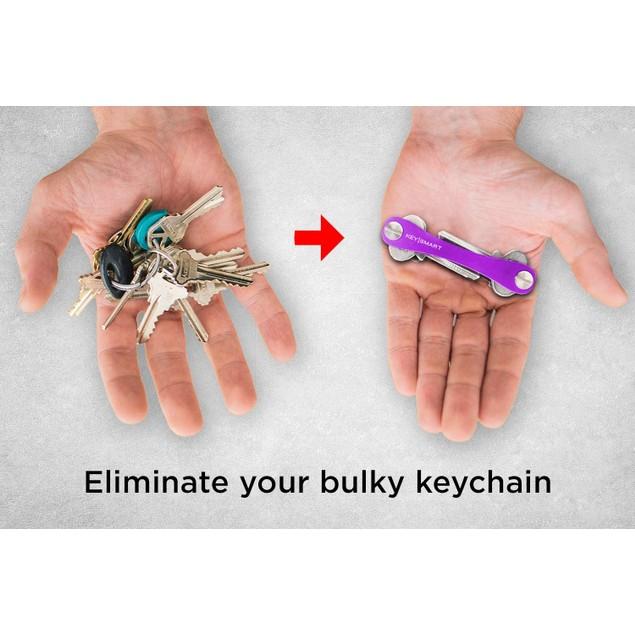 2-Pack KeySmart Classic Compact Key Holder & Keychain Organizer