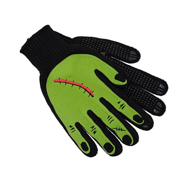 Scarred Green Monster Hand Mechanic`S Work Gloves Work Gloves
