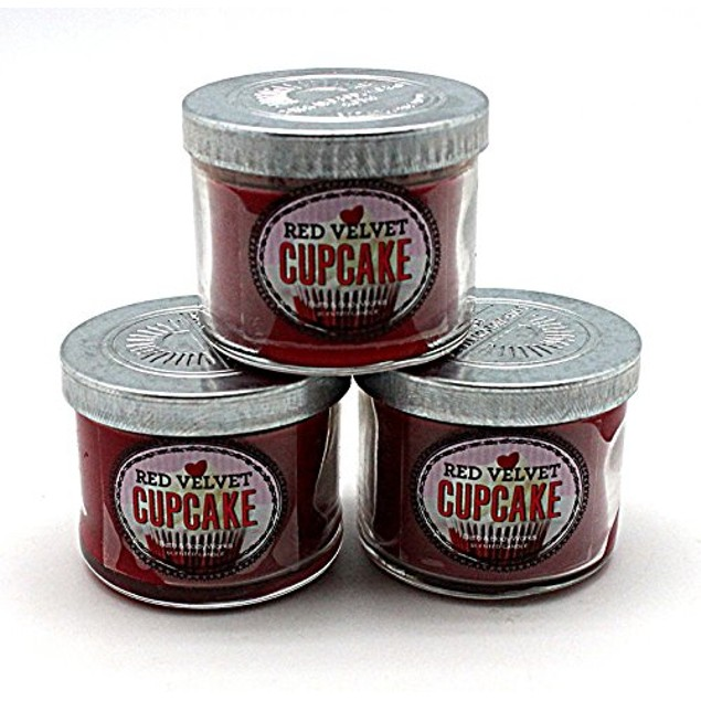 3-Pack Bath and Body Works Red Velvet Mini Candles
