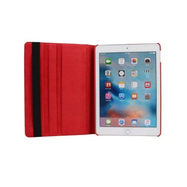 iPM 360-Degree Rotary Stand Leather Case for iPad Mini - Vintage USA Flag