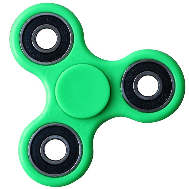 3-Pack Tri-Spinner Fidgets Anti Stress Sensory Fidget Spinner