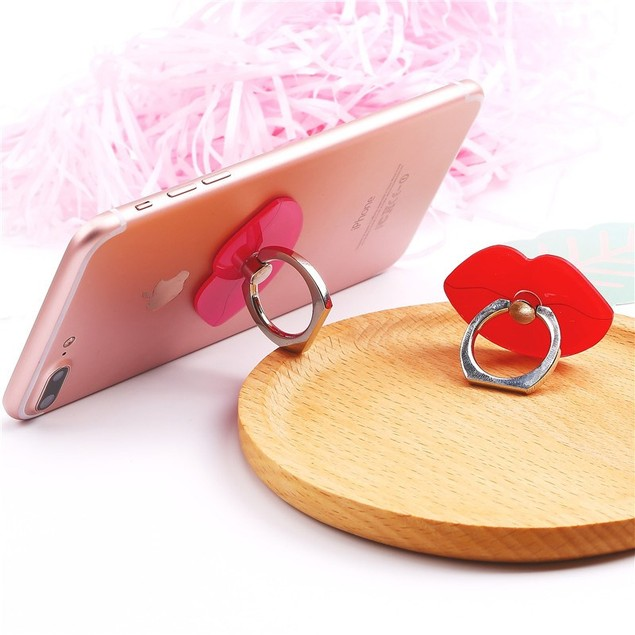 Universal 2-in-1 Kickstand & Ring Grip for Smartphones