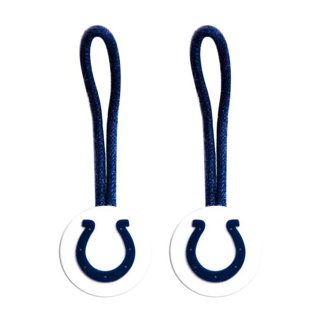 2-Pack NFL Zipper Pull Pet id Luggage Bag Tag
