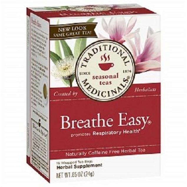 Traditional Medicinals Teas Organic Breathe Easy