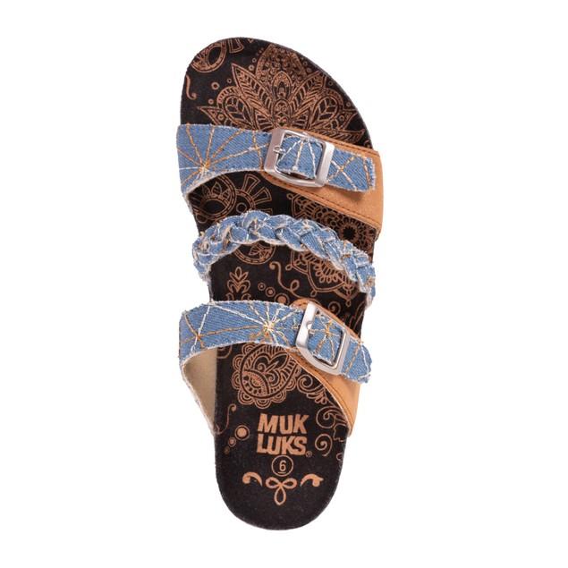 MUK LUKS Women's Bonnie Sandals