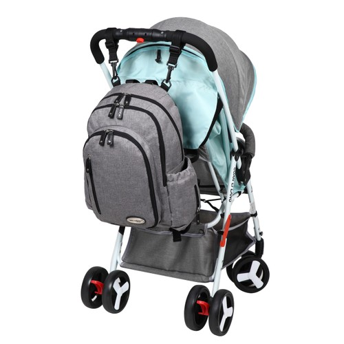 Amazing Moms Christian Mes Enfants Multi-Pockets Microfiber Baby Bag