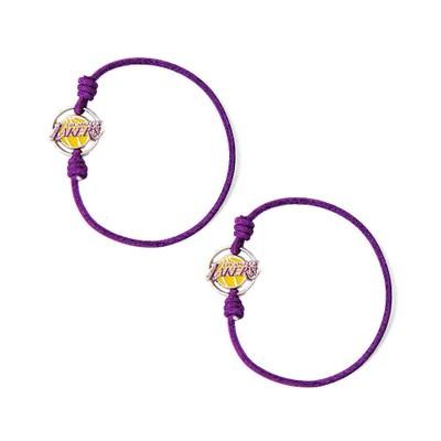 NBA Sports Team Stretch Bracelets Set of 2 Hair Ties