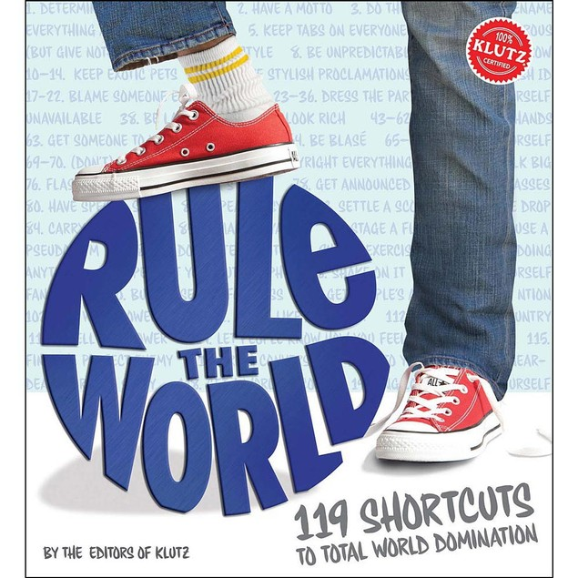 Rule the World Book, More Humor by Klutz