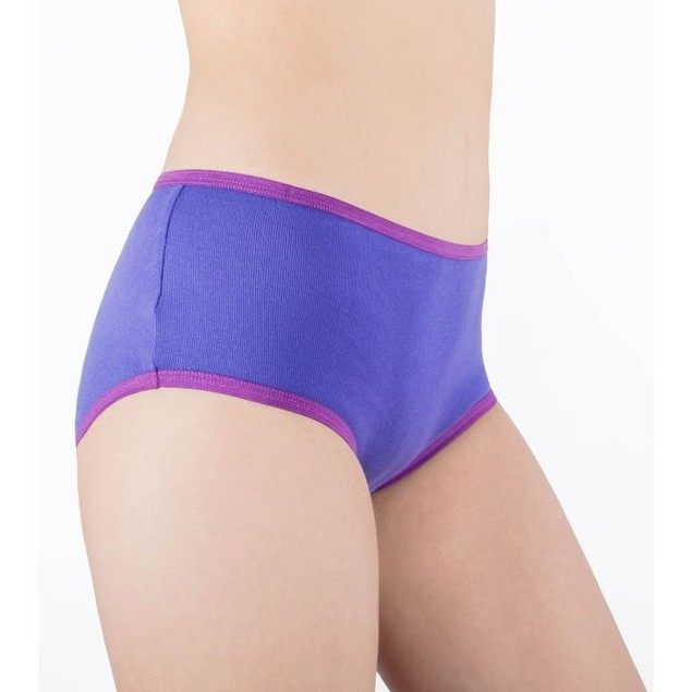 12-Pack Women's Full Cut 100% Cotton Sexy Panty Briefs