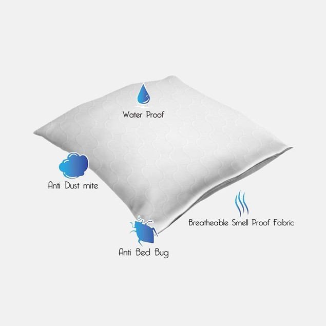Remedy Bed Bug + Mite Pillow Protector