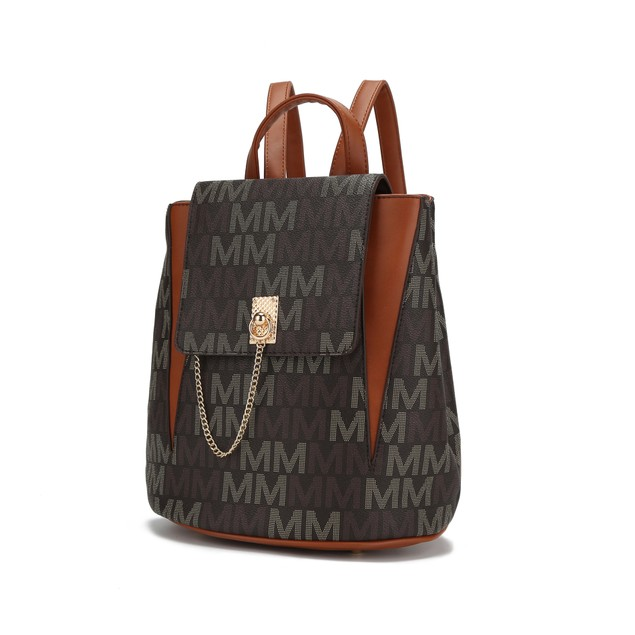 MKF Collection by Mia K.  Deni M Signature Backpack by Mia K.