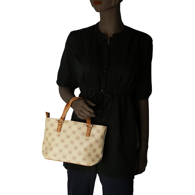 MKF Collection Dolly M Signature Set Tote and Small Tote by Mia K