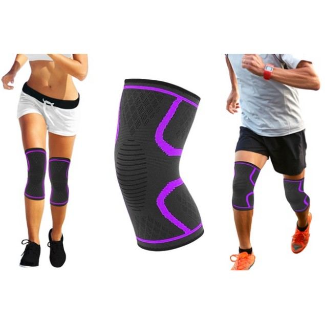 2-Pack Athletics DCF Knee Compression Sleeve Support