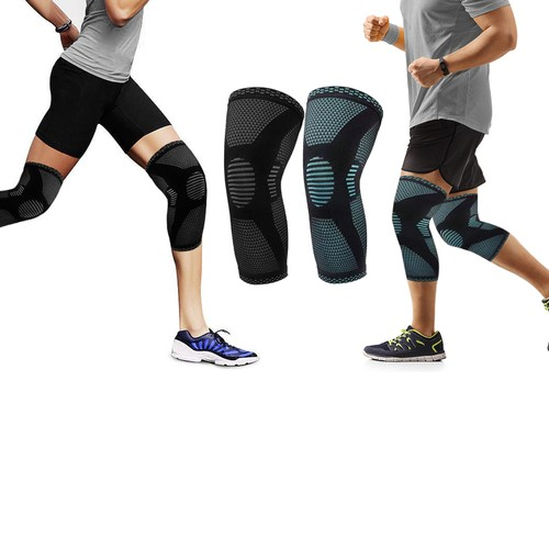 Support And Recover Knee Compression Sleeve Brace
