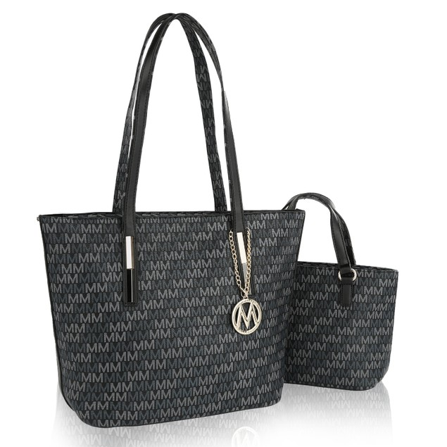 MKF Collection Shantell 2 Pc Tote Set by Mia K.