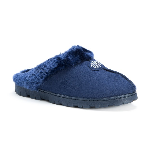 MUK LUKS ® Women's Clog with Fur Lining
