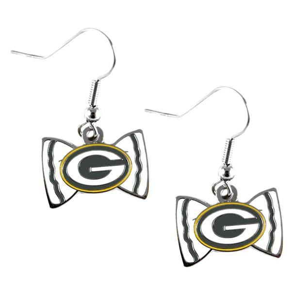 NFL Sports Team Logo Bow Tie Earring Dangle