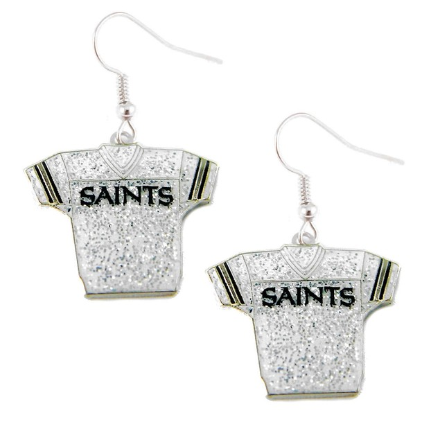 NFL Glitter Jerseys Sparkle Dangle logo Earring Set Charm Gift