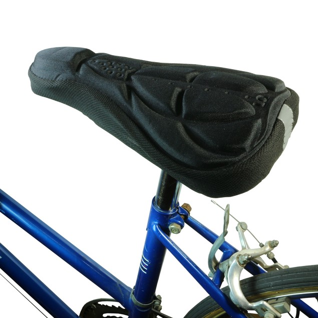 2-Pack:  Cushioned Bicycle Seat Cover