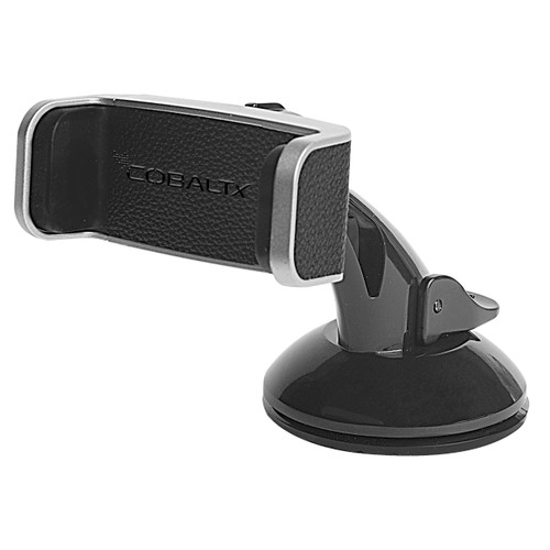 Universal Windshield & Dash Mount with Leather Accent