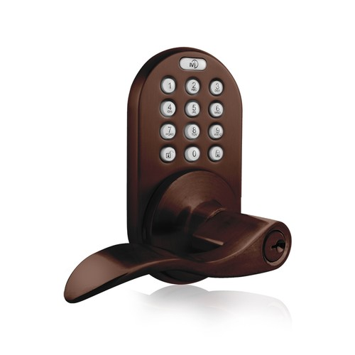 MiLocks Keyless Entry Keypad Lever Handle Door Lock
