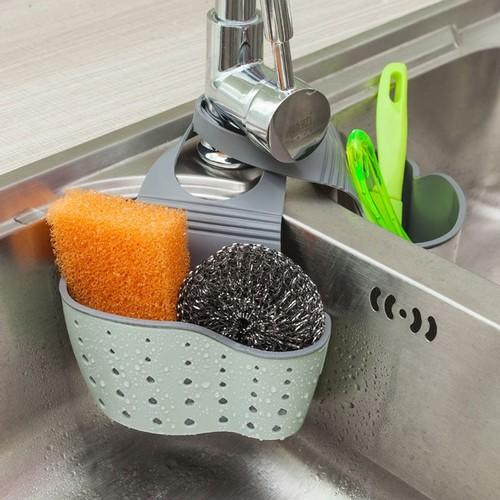 Kitchen Sink Storage Shelf - Useful Suction Cup