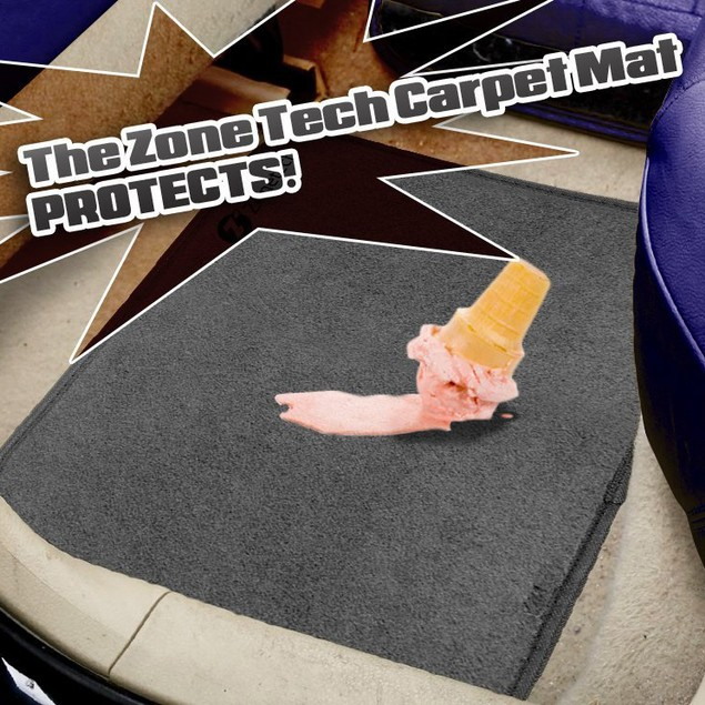 Zone Tech 4-Piece All-Weather Heavy Duty Floor Mats