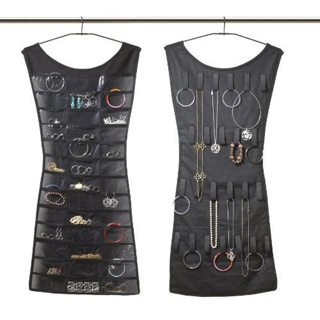 Hanging Dress Jewelry Organizer