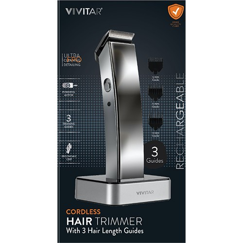 Cordless Rechargeable Stainless Steel Precision Trimmer