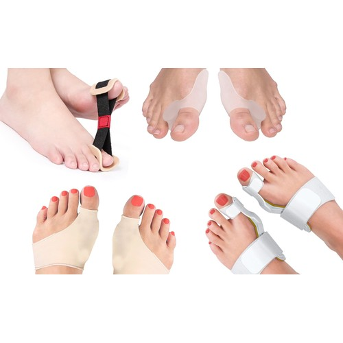 Complete Orthopedic Bunion Corrector and Relief Kit (8-Piece)