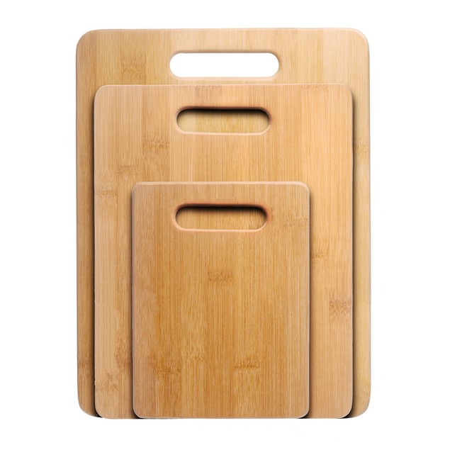 Nuvita Bamboo 3-Piece Bamboo Cutting Board Set