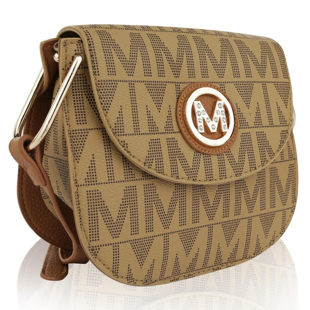 MKF Collection Paola Milan M Signature Cross Body Bag by Mia K