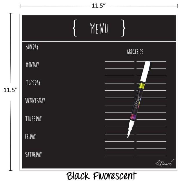 Menu Magnet (11.5 x 11.5) - 3 Colors