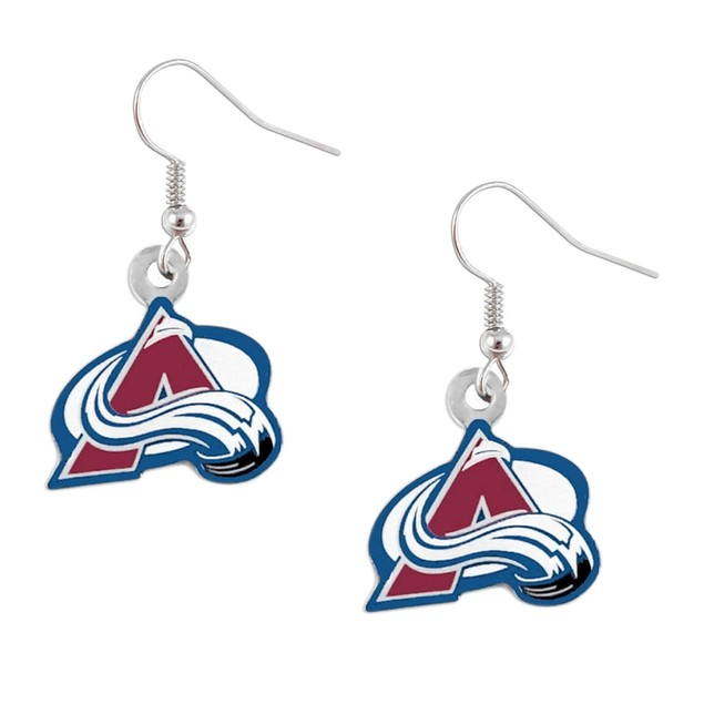 NHL Sports Team Dangle Logo Earring Set Charm Gift