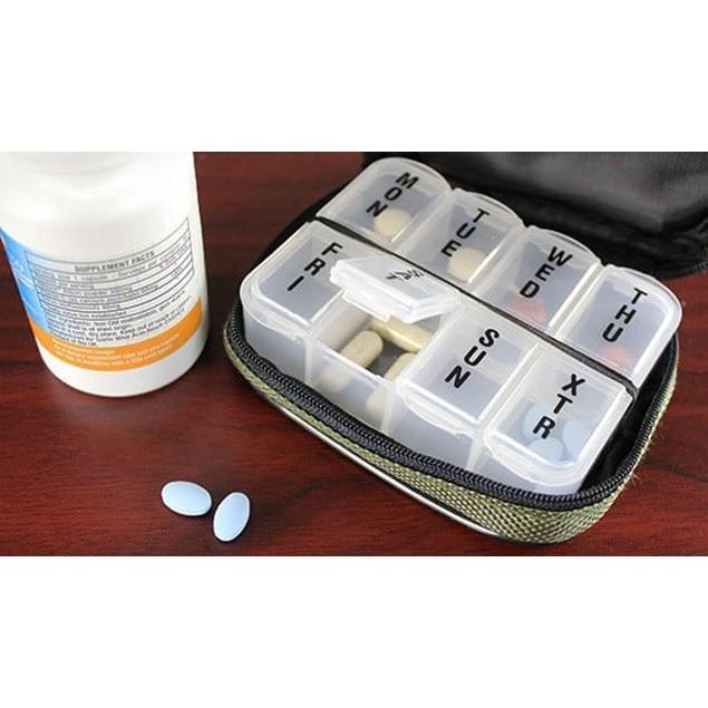 Fashion Smart Pill and Vitamin Case