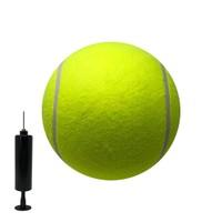 "8"" Jumbo Tennis Ball w/ pump and needle"