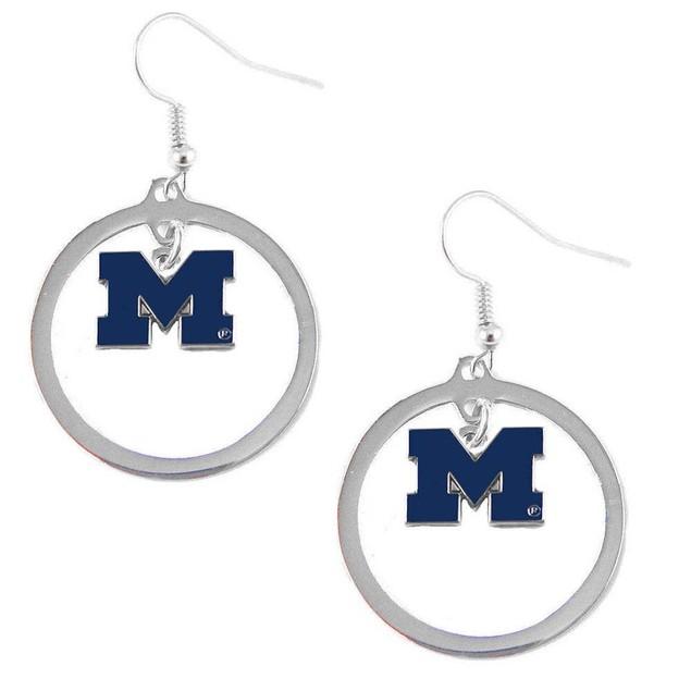 NCAA Hoop Logo Earring Set Charm Gift