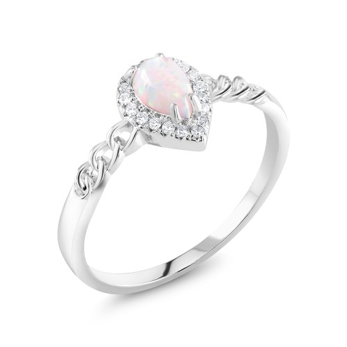 Pear Shaped Classic Ring
