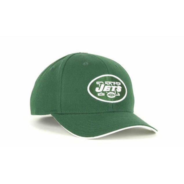 New York Jets NFL Team Apparel Youth Adjustable Hat