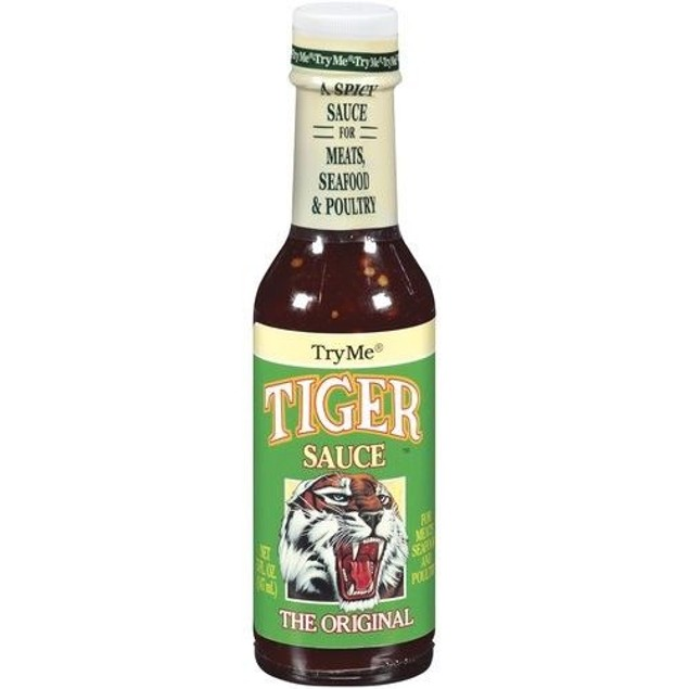 Original Tiger Sauce Spicy 5 oz Bottle