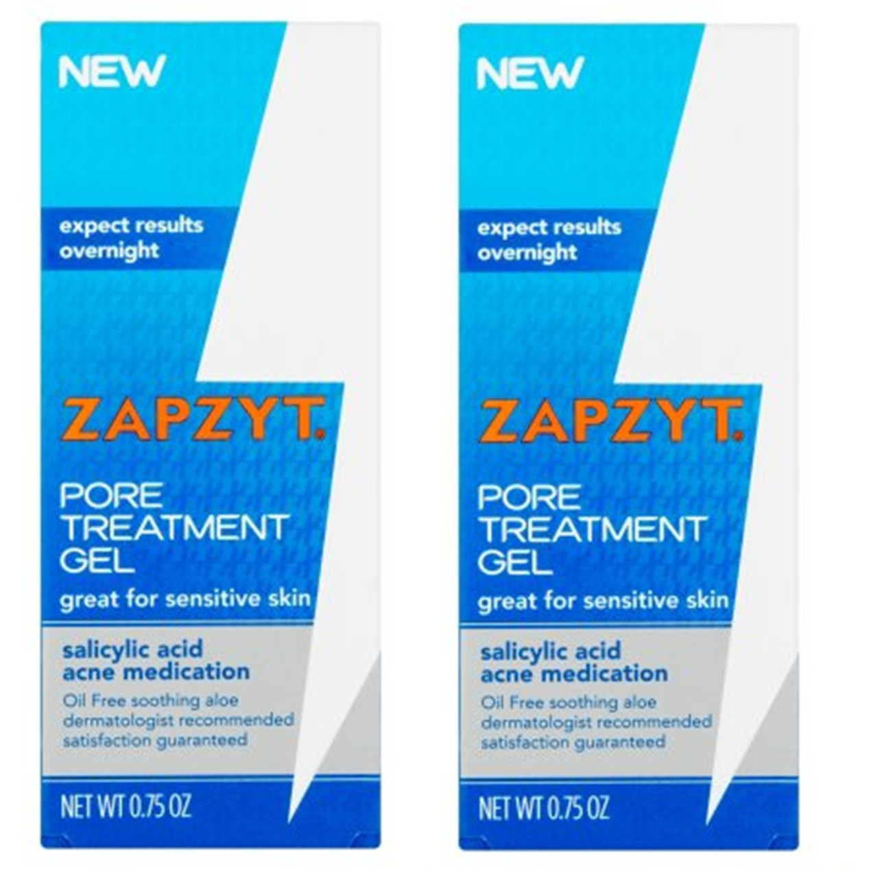 Zapzyt Pore Treatment Gel With Salicylic Acid 0 75 Oz Tanga