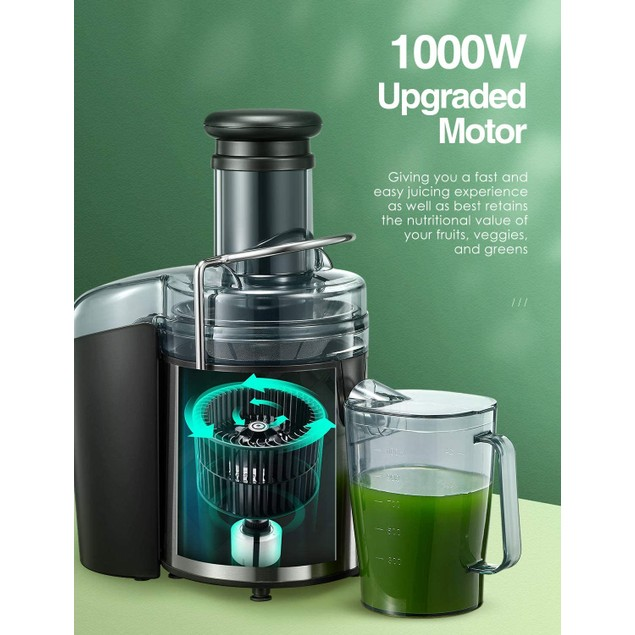 AICOK Juicer Extractor 1000W Centrifugal Juicer Machines