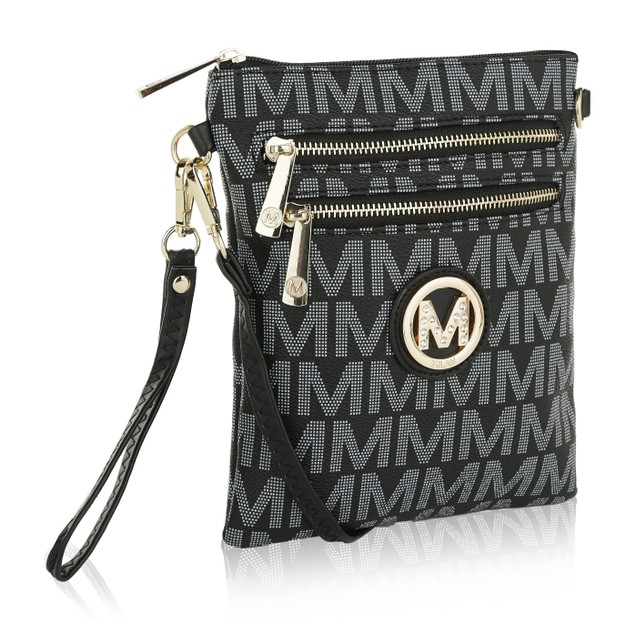 MKF Collection Laura Milan M Signature Cross-body by Mia K