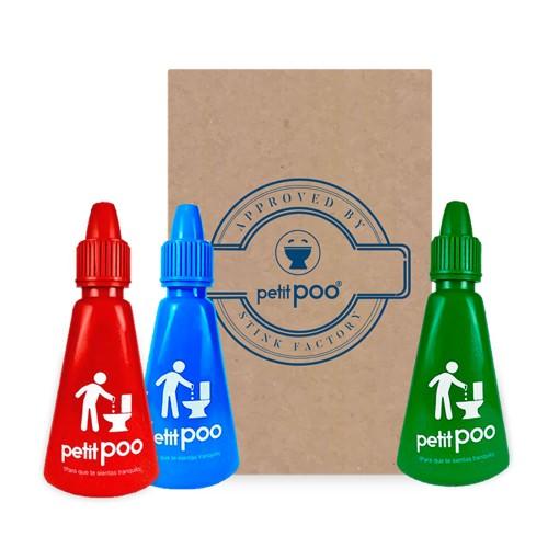 Petit Poo Toilet Odor Eliminator: Endurance Kit