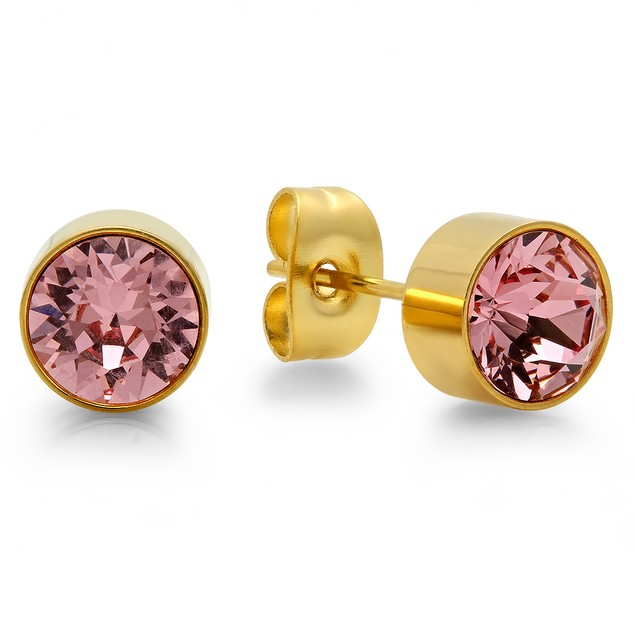 Tourmaline Stud Earrings