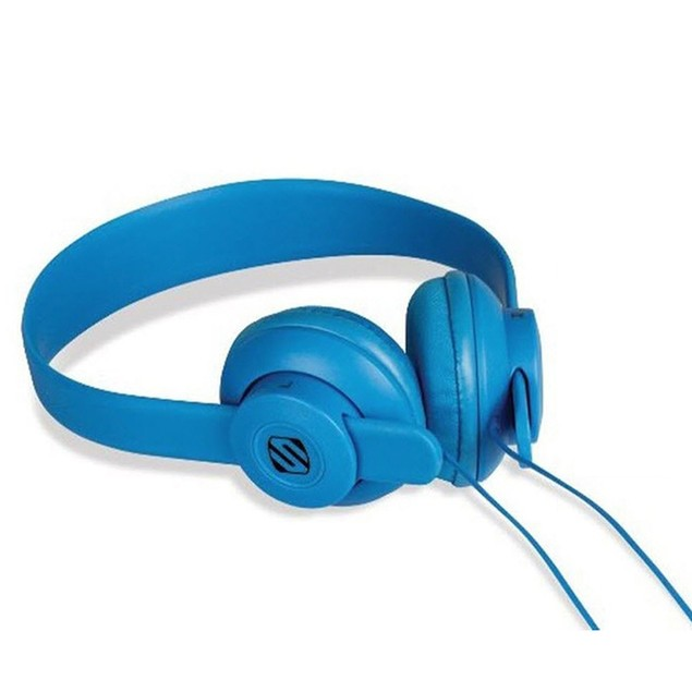 Scosche On-Ear- Over-Ear Headphones-Lightweight -LobeDOPE SHP400- Blue